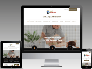 chiropractor website design digitial marketing agency diva consultant